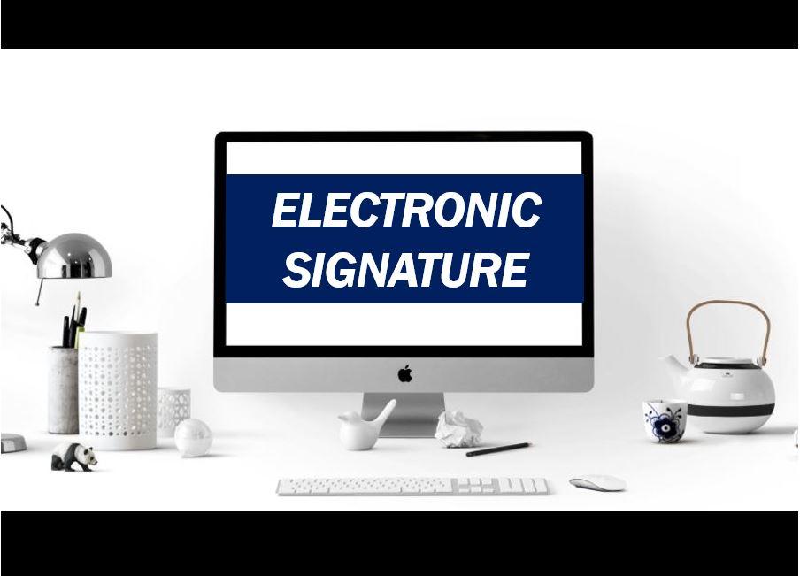 Electronic signature thumbnail image 8888888