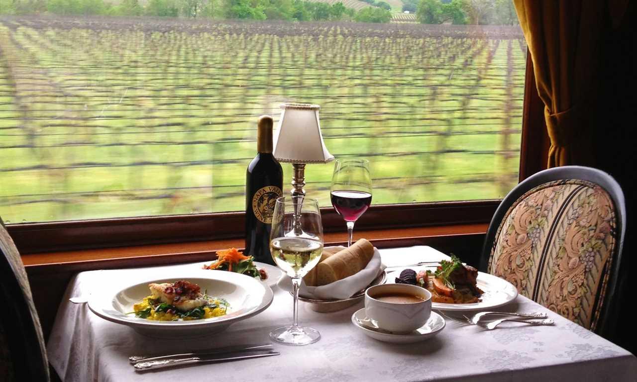Napa Valley Wine Train - Napa Valley, California