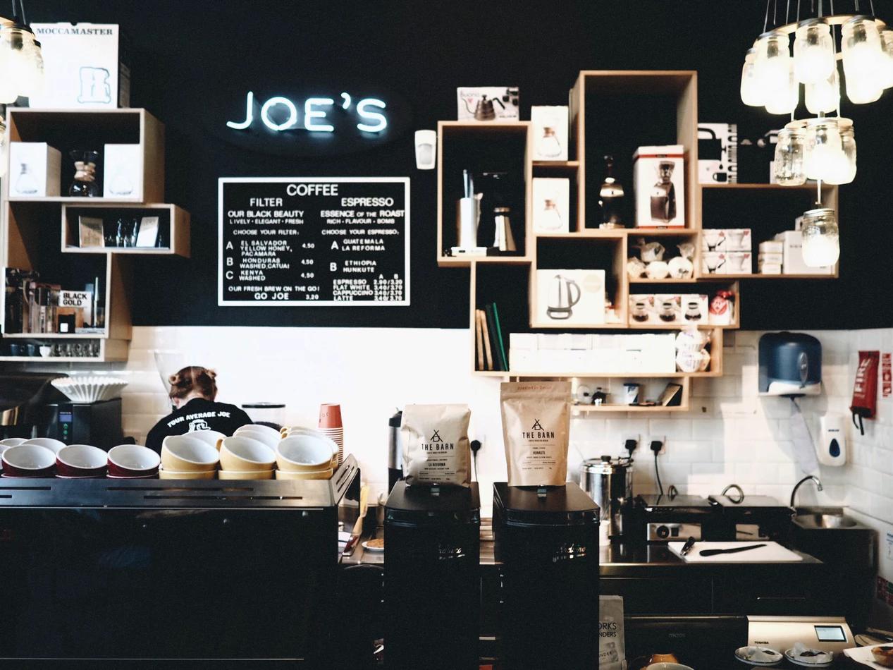 Coffee shop as a seasonal job