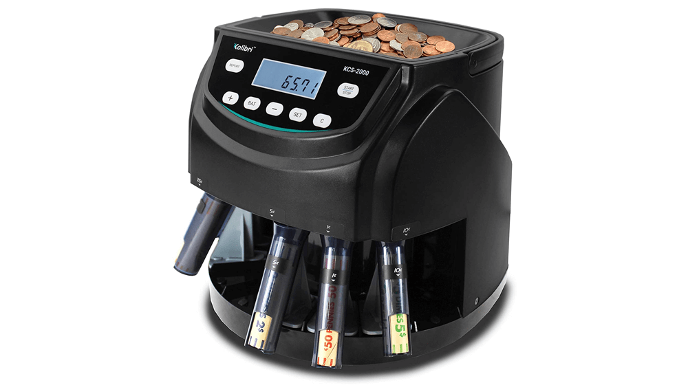 Kolibri KCS-2000 Professional USD Coin Counter